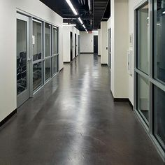"""""""cement"""" floors Good color and simple pattern. I like."""