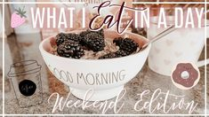 WHAT I EAT IN A DAY | Weekend Edition