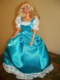 Barbie Satin Party Dress