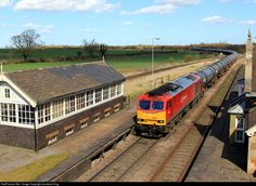 RailPictures.Net Photo: 60024 DB Schenker BR Class 60 at Brocklesby Junction, Lincolnshire, United Kingdom by Jonathan King