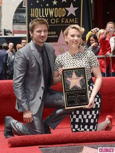 Scarlett Johansson received a star on Hollywood's Walk of Fame. [via Oh No They Didn't]