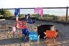 Camping at San Elijo State Beach in Encinitas, CA