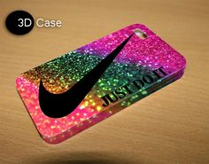 just do it rainbow 3D iPhone Cases for iPhone by LetitaDesign, $3.60