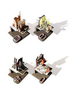 Home Building 2035 + Village MC-1 | David Flook BSc Architecture Unit 4, Y3 | Bartlett School of Architecture UCL