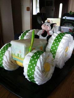 Diaper cake - Tarta de pañales - Baby shower gifts and crafts Baby Cakes, Baby Shower Cakes, Fiesta Baby Shower, Baby Shower Diapers, Baby Shower Favors, Baby Shower Parties, Baby Shower Themes, Baby Boy Shower, Baby Shower Gifts
