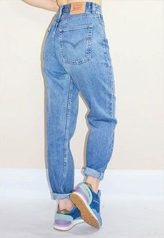 06aa1ed59a625a Vintage Levi s 504 High Waisted Jeans all but the shoes!