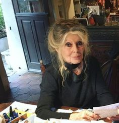 """A lot of people ask me to post recent pictures of Brigitte Bardot so, this is one of her recent photos I have. ❤ """"Every age can be enchanting, provided you live within it."""" - Brigitte Bardot. ° #brigittebardot #brigitte #bardot #bb"""