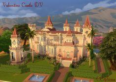 CC4Sims: Valentine Castle DV