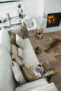 Leuke sfeer Winter Home Decor Ideas | Contemporary interior design | 2015 home decor trends