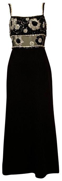 Vintage Black, Dresses, Fashion, Vestidos, Moda, Fashion Styles, Dress, Fashion Illustrations, Gown