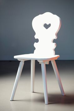 Vienna Weiss Tyrolean Chair | Remodelista