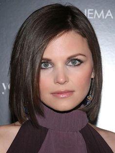 Ginnifer Goodwin - medium bob - gah her hair is perfect no matter the cut
