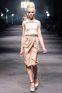 Lanvin Spring 2010 #Lanvin #Runway #Fashion