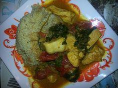 Curry chicken!  FMD