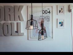 Tente Isso Em Casa: Aprenda a fazer uma luminária descolada com colhedor de frutas - YouTube