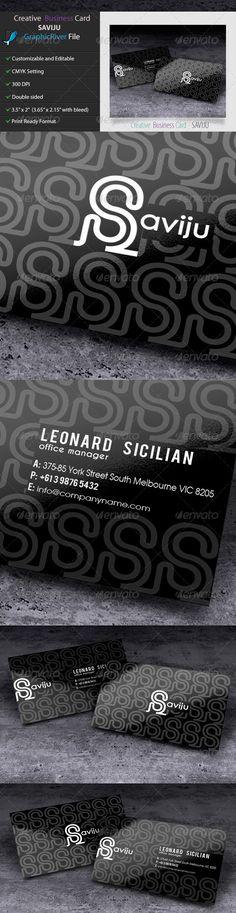 Creative Business Card - SAVIJU2