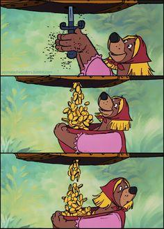 Little John from Walt Disney's Robin Hood (1973)