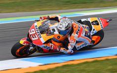 Lataa kuva Marc Marquez, moottoripyörä racer, MotoGP, Repsol Honda Team, ratsastaja