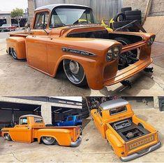 rat rod trucks and cars Lowered Trucks, Lifted Ford Trucks, Gmc Trucks, Pickup Trucks, Bagged Trucks, Truck Drivers, 1958 Chevy Truck, Custom Chevy Trucks, Classic Chevy Trucks