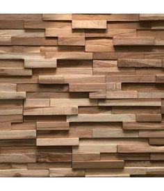 plaquette de parement bois recycl ultrawood teak colorado. Black Bedroom Furniture Sets. Home Design Ideas
