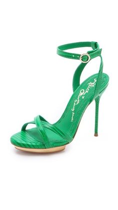 fashion – heels / alice + olivia Paola Strappy Sandals  ↓Fashion Design Shoes 