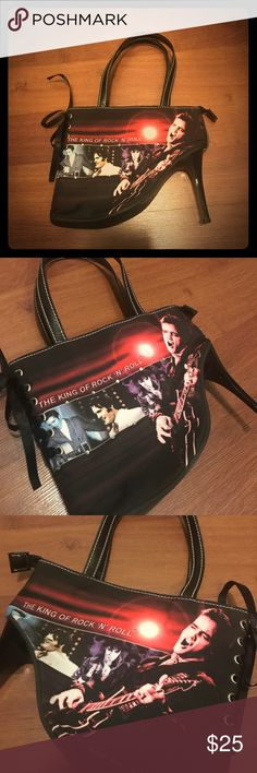 Elvis purse!!! Unique! Never used. Collector item. Super cute!!!! Bags