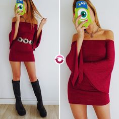 ULTIMO VESTIDO GLITTERS BORDO $500 Lycra y lurex mangas oxford cuello bote elastizadoNO VUELVE!  CINTURON TEXANO $250 (vuelve a entrar la semana próxima) Local Belgrano Envios Efectivo y tarjetas Tienda Online http://www.oyuelito.com.ar #followme #oyuelitostore #stylish #styles #fashion #model #fashionista #fashionpost #ootd #moda #clothing #instafashion #trendy #chic #girl #trends #outfitoftheday #selfie #showroom #loveit #look #lookbook #inspirationoftheday #modafemenina #dress