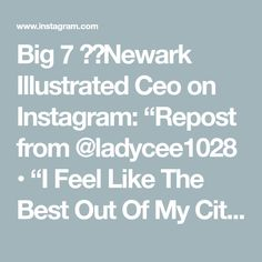 """Big 7 ☄️Newark Illustrated Ceo on Instagram: """"Repost from @ladycee1028 • """"I Feel Like The Best Out Of My City"""" 👌🏽👑💯🔥🔥🔥🔥Let's Go 🚀🚀🚀🚀#DMVstandup💯#ladyceelyric🔥👑🎶💯👉🏽 #aqueencanpublishllc…"""""""