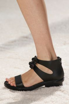 3.1 Phillip Lim Spring 2014 Ready-to-Wear Collection Slideshow on Style.com #sandal #black