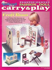 Fashion Doll Carry & Play Craft Room - Electronic Download