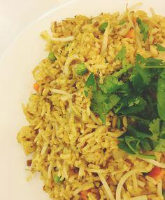 guru fried rice at Loving Hut | Adventures in a New(ish) City #houston #texas #food #vegan #foodblogger #newishcityHOU