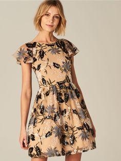Sukienka z wycięciem na plecach, MOHITO, TQ201-08X