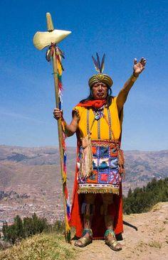 Inca's indianenvolk in Zuid-Amerika (huidige Peru) dat een groot en machtig  rijk had opgebouwd.