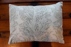 Lumbar Pillow cover  David Butler print fits by HATTIEBELLESTUDIO