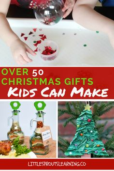 Finding Christmas gifts kids can make can be a challenge sometimes. Making gifts for parents is a fun way to teach kids to be givers. Kid Made Christmas Gifts, Christmas Presents For Parents, Homemade Christmas Presents, Christmas Crafts For Kids To Make, Diy Holiday Gifts, Kids Christmas, Homemade Gifts, Handmade Christmas, Parent Gifts