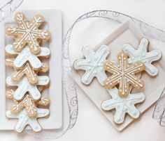 Traditional sugar cookies made healthier by Caroline Edwards of Chocolate & Carrots