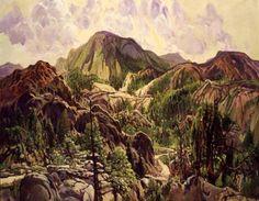 Road in the Cuyamacas, Charles Reiffel, 1934