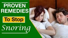 Try These Proven Remedies To Stop Snoring Naturally So That Everyone Can Get A Good Night's Sleep Once And For All. Now You Can Say Bye Bye Snoring For Good.