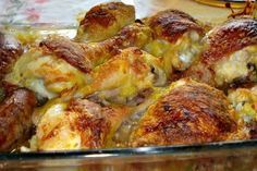 Sensacional! - Aprenda a preparar essa maravilhosa receita de Frango com maionese no forno simples rápido mais é muito gostoso