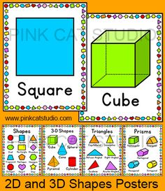 Shapes 3d shapes triangles and prisms you can also print 4 per page