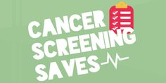 Are you aware of the screening recommendations for colorectal, cervical and breast cancer? Cancer screening sees what you can't. Be sure to follow these guidelines and talk to your loved ones about getting screened