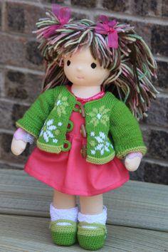 Waldorf doll Laima16 tallsoft toy by inetastep on Etsy
