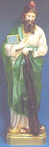 "St. Jude 24"" Outdoor Statue"