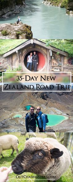 For 35 days we drive the north and south island! See what we did, how much it cost, and where we stayed. New Zealand   North Island   South Island   Road Trip - OutChasingStars.com #AustraliaTravelRoute