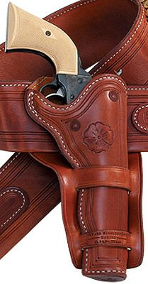 Old Trading Post Branded Western Gun Holsters | Old Trading Post