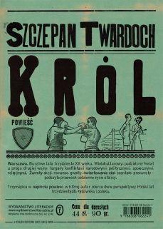 "Riverside Blues Again: Szczepan Twardoch ""Król"" Books To Read, My Books, Self Publishing, Book Journal, Bookbinding, Reading Lists, Editorial Design, Ebook Pdf, Romans"