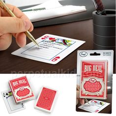 BIG DEAL NOTEPAD $7.99.  These would be perfect for the boyfriend and I once we move in together.  We often play cards and wind up leaving notes all over the place for each other. :D #perpetualkidsummerfrenzy