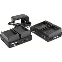 Marshall Electronics WP-1C Dual Battery Holder for Canon LPE6 Used with WP-1 Series Transmission System