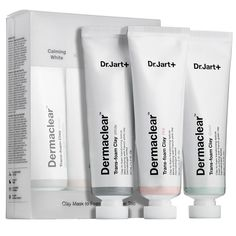 Dr. Jart+ Dermaclear(TM) Trans-Foam Clay Trio from Sephora $35