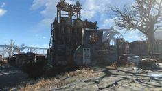 Post with 14 votes and 1680 views. Fallout 4 County Crossing wasteland bar (Xbox One) Fallout Mods, Fallout 4 Settlement Ideas, Fall Out 4, Post Apocalypse, Xbox One, Funny Jokes, Community, House Styles, Building